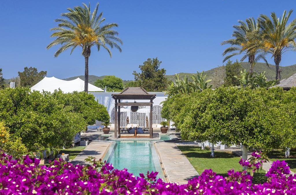 Slapen tussen de sterren op Ibiza