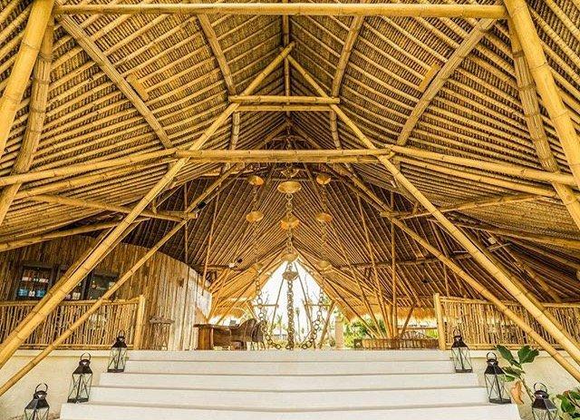Droomplek van bamboe op Bali