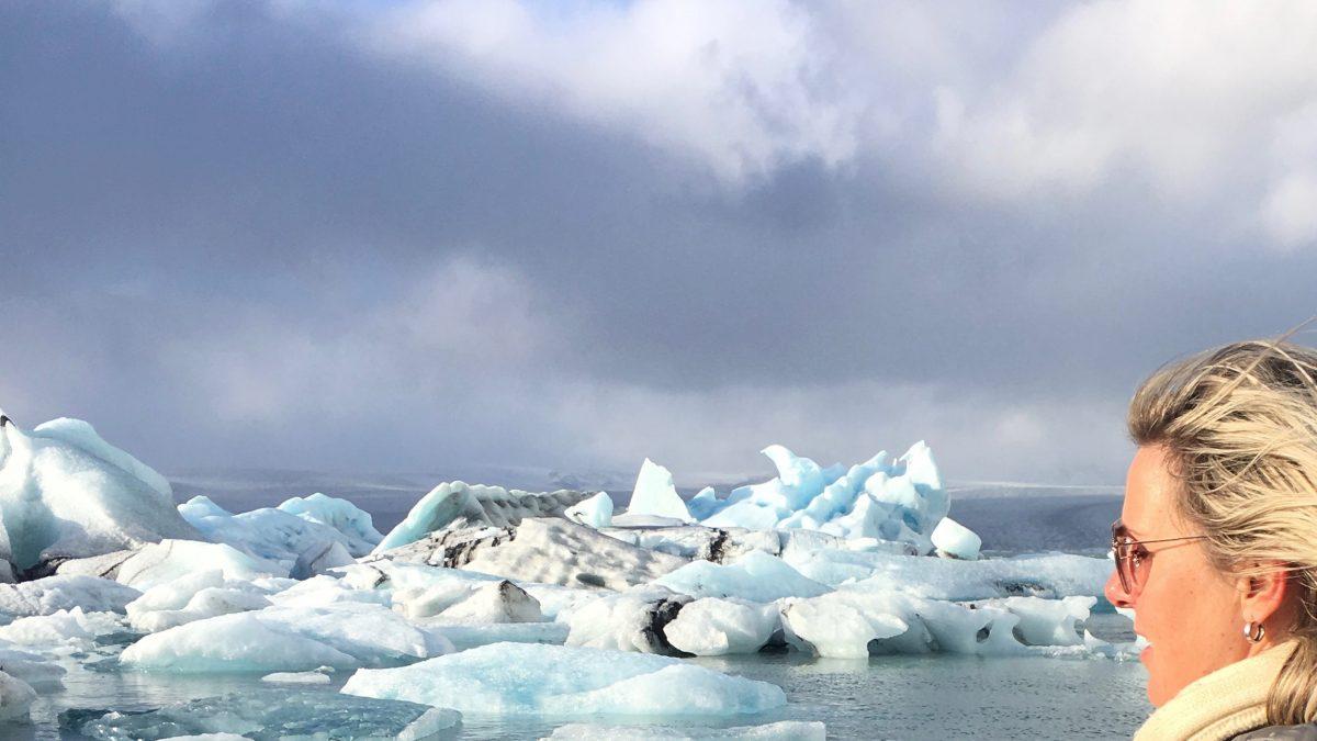 Derde dag op IJsland: Jokulsarlon, het 'ijsbergenmeer'