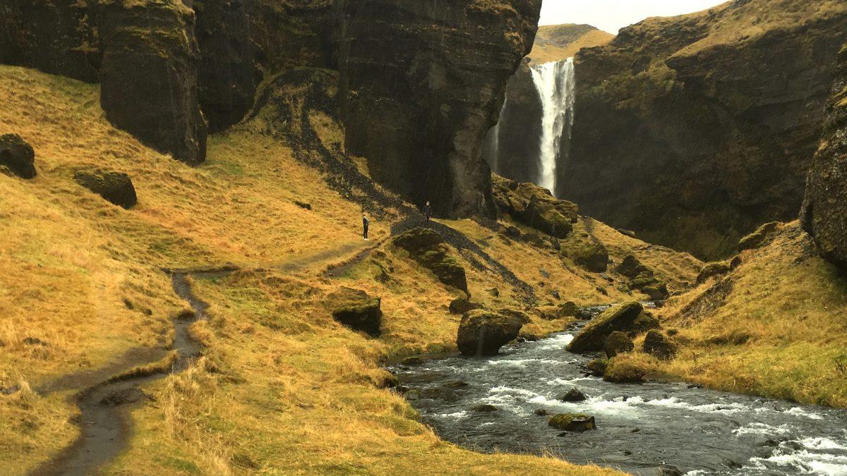 Vierde dag op IJsland: op zoek naar de geheime waterval