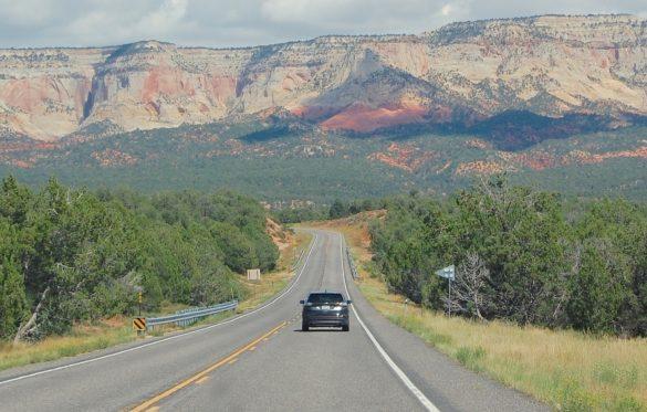 weg road car auto Amerika bergen
