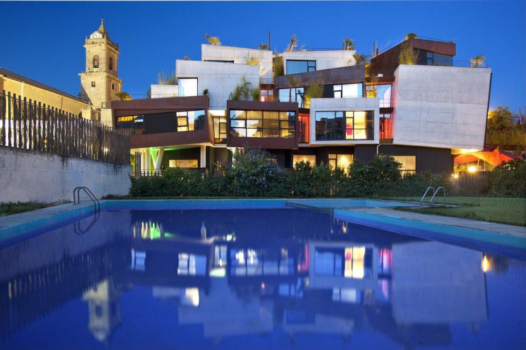 hotel pool zwembad Viura Spanje