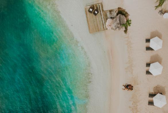 strand curacao beach sea zee relax
