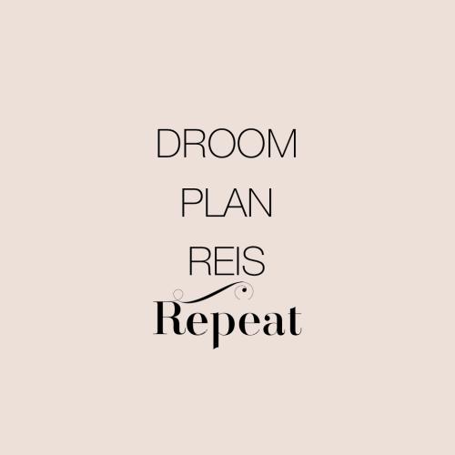 Droom plan reis repeat reiswijf